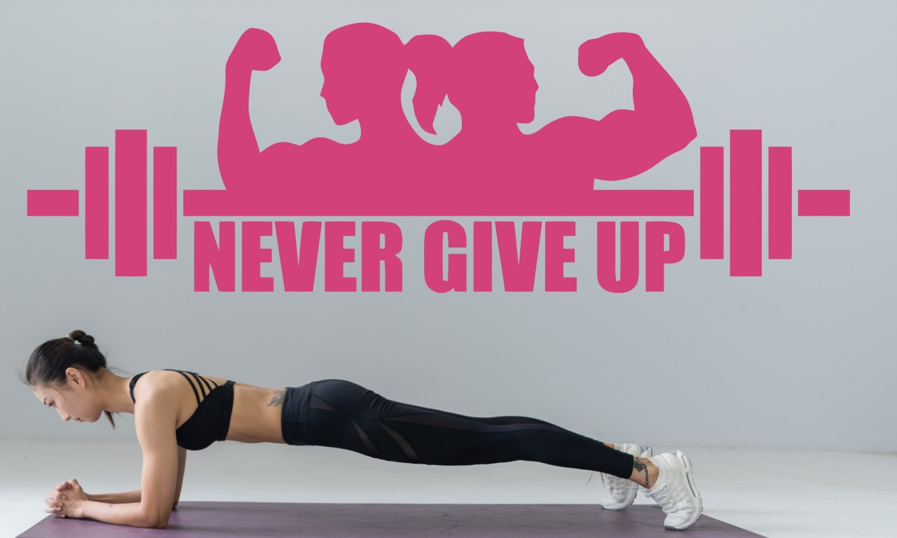 Never give up falmatrica
