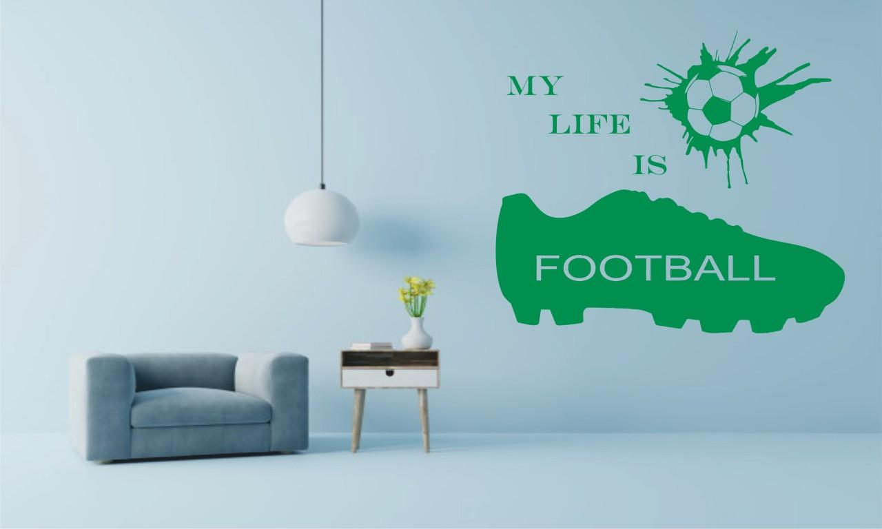 My life is football falmatrica