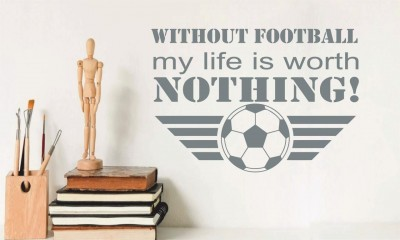 Without football... falmatrica